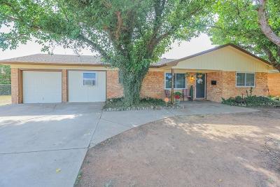 Lubbock Single Family Home For Sale: 3601 Elkhart Avenue