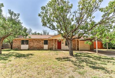 Lubbock Single Family Home For Sale: 4829 9th Street