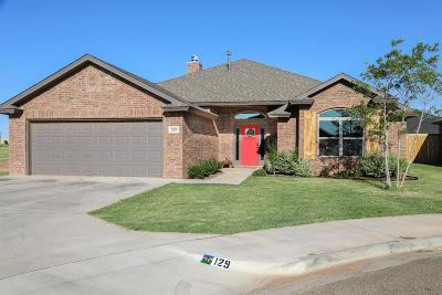 Wolfforth TX Single Family Home Under Contract: $269,500