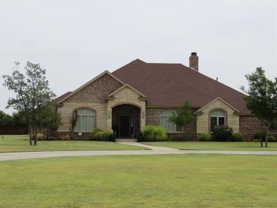 Lubbock Single Family Home For Sale: 16001 County Road 1830