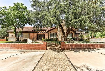 Lubbock Single Family Home For Sale: 3415 Canyon Road