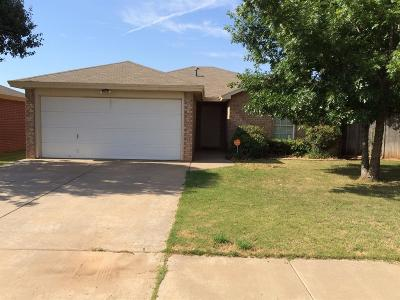 Lubbock Single Family Home For Sale: 2119 87th Street