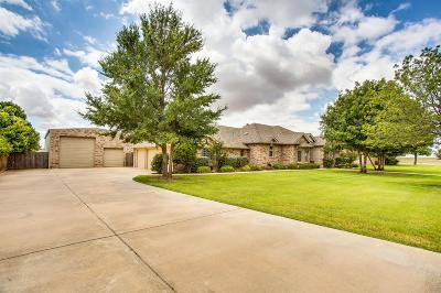 Lubbock Single Family Home For Sale: 6307 County Road 7435