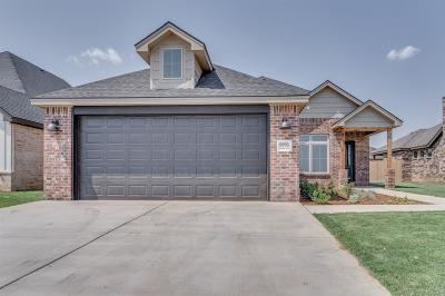 Lubbock Single Family Home Under Contract: 6956 24th Street