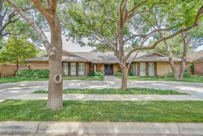 Lubbock Single Family Home For Sale: 5208 18th Place