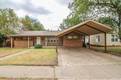 Lubbock Single Family Home For Sale: 3007 30th Street