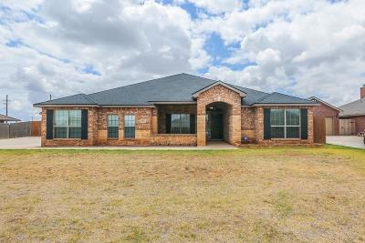 Lubbock Single Family Home For Sale: 3103 128th Street
