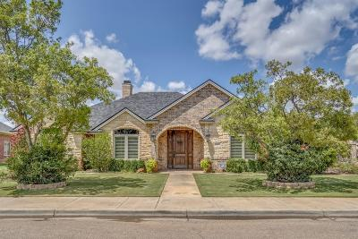 Lubbock Single Family Home For Sale: 3902 101st Street