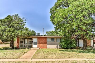 Lubbock Single Family Home For Sale: 2320 48th Street