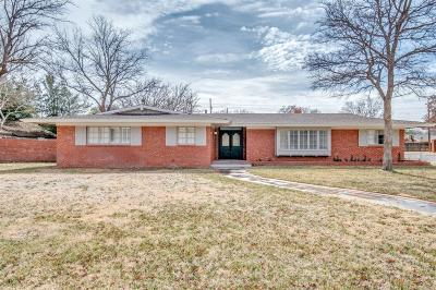 Lubbock Single Family Home For Sale: 4609 16th Street