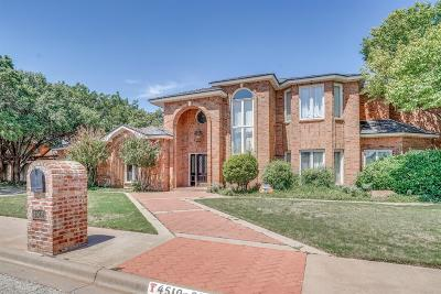 Lubbock TX Single Family Home For Sale: $569,950
