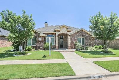 Lubbock Single Family Home For Sale: 10605 Utica Avenue