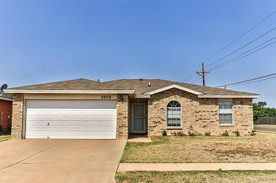 Lubbock Single Family Home For Sale: 1102 Ironton Avenue