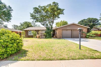 Lubbock Single Family Home For Sale: 2017 52nd Street
