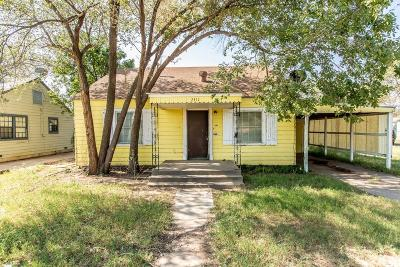 Single Family Home Under Contract: 2311 25th Street