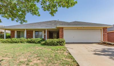 Lubbock Single Family Home For Sale: 3114 104th Street