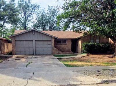 Lubbock Single Family Home For Sale: 3522 Bangor Drive