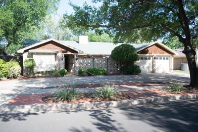 Lubbock Single Family Home For Sale: 6805 Norfolk Avenue