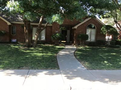 Lubbock Single Family Home For Sale: 5504 84th Street