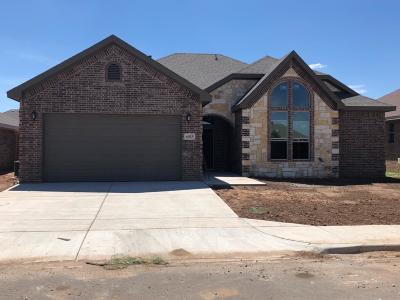 Lubbock TX Single Family Home For Sale: $254,351