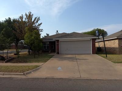 Lubbock Single Family Home For Sale: 1822 77th Street