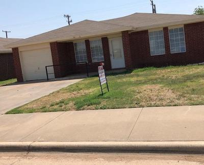 Lubbock Single Family Home For Sale: 3415 Grinnell Street