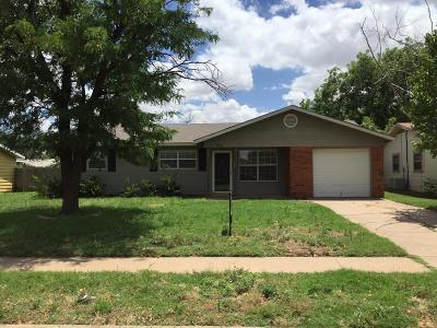 Single Family Home For Sale: 5311 38th Street