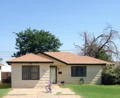 Single Family Home For Sale: 5018 35th Street