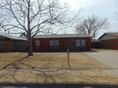 Lubbock Rental For Rent: 5609 44th Street