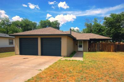 Lubbock Rental For Rent: 3504 40th Street
