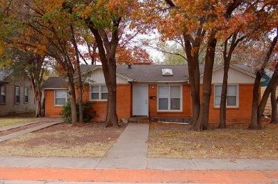Lubbock Rental For Rent: 3510 29th Street