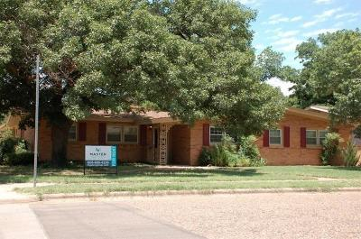 Lubbock Rental For Rent: 3518 37th Street