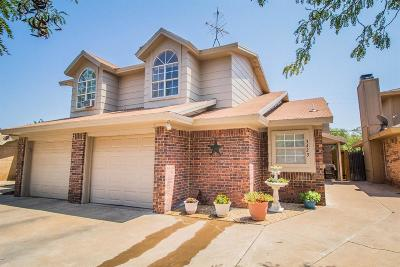 Lubbock Townhouse For Sale: 3423 Hyden Avenue