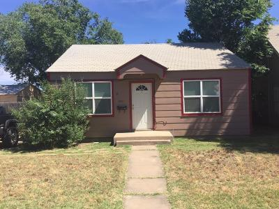 Lubbock Rental For Rent: 2220 20th Street