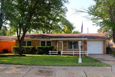 Littlefield Single Family Home For Sale: 402 E 18th