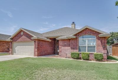 Lubbock Single Family Home For Sale: 5720 107th Street