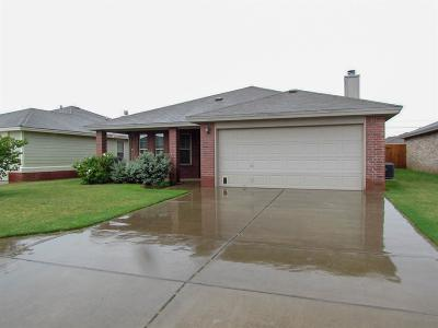 Lubbock Single Family Home For Sale: 2316 99th Street