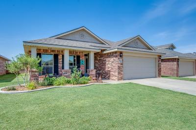 Lubbock Single Family Home For Sale: 5516 109th Street