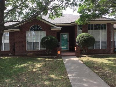 Lubbock Single Family Home For Sale: 6025 76th Street