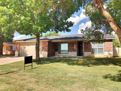 Lubbock TX Single Family Home Under Contract: $169,000