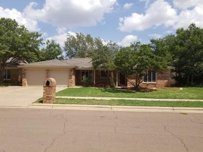 Lubbock TX Single Family Home Under Contract: $179,900