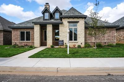Lubbock TX Single Family Home Under Contract: $288,000
