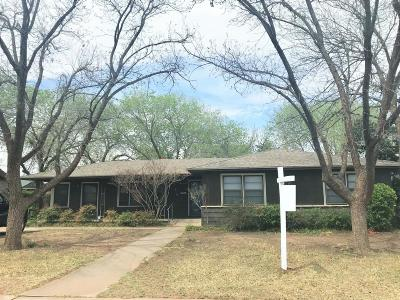 Single Family Home For Sale: 3316 25th Street