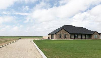 Shallowater Single Family Home Contingent: 12821 N Farm Road 179
