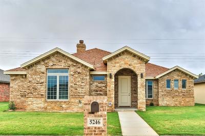 Single Family Home For Sale: 5246 Marshall Street