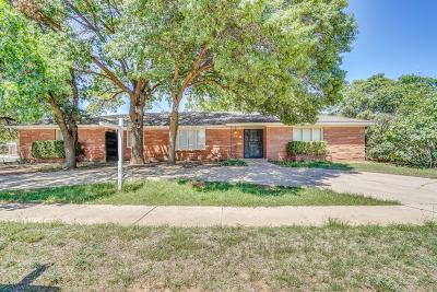 Single Family Home For Sale: 3714 68th Street