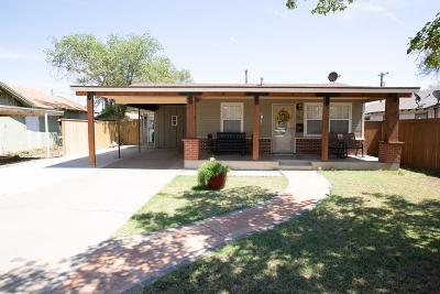 Slaton  Single Family Home Under Contract: 920 S 10th Street