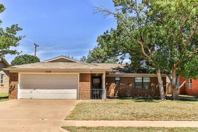 Single Family Home For Sale: 5508 37th Street