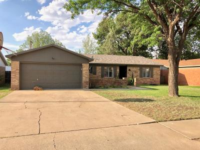 Lubbock TX Single Family Home Under Contract: $134,900