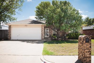 Shallowater Single Family Home Under Contract: 720 15th Street